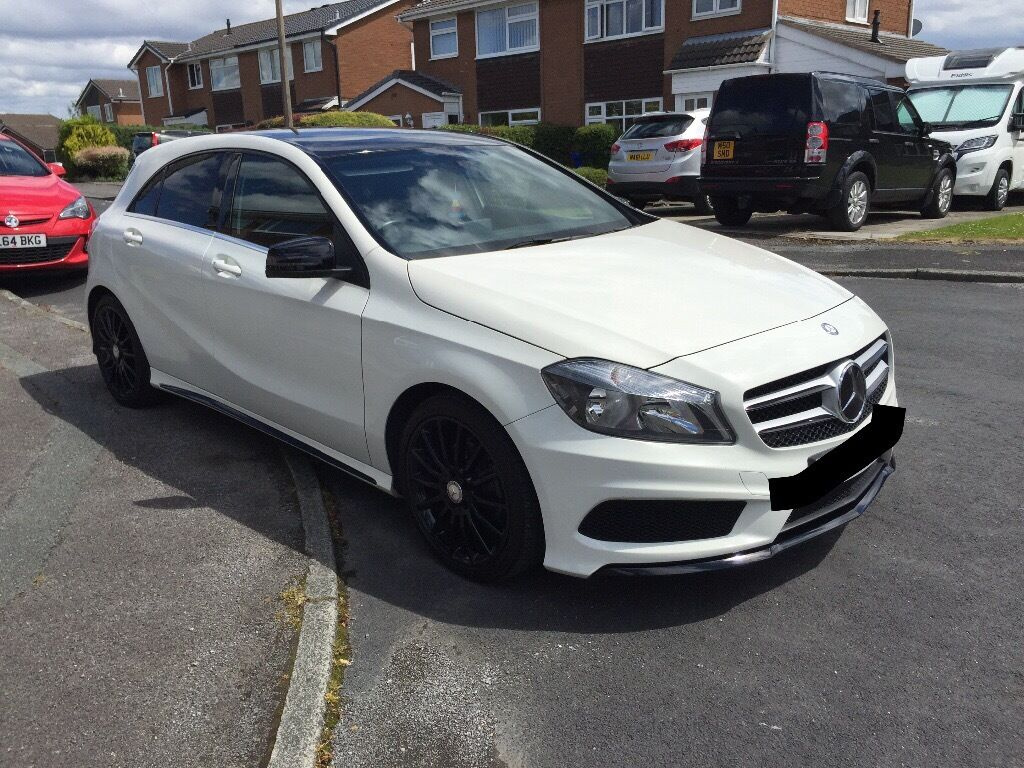 mercedes benz a200 amg line upgraded in radcliffe. Black Bedroom Furniture Sets. Home Design Ideas