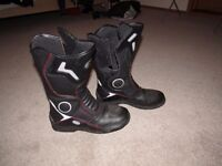 Motorcycle Boots - Size 10