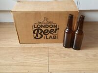 24x 330ml beer bottles and beer capping device