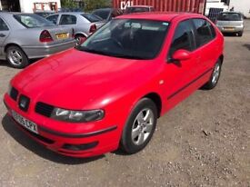 2005 Seat Leon, starts and drives well, MOT until June 2018, service history up to 75,000 miles, i