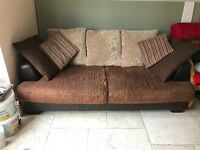 3 seater sofa comes with cushions collection only