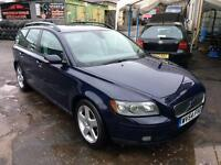 Volvo V50 2.0D manual, leather