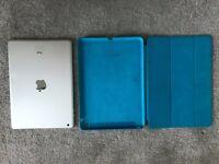 Ipad Air + Apple original leather case