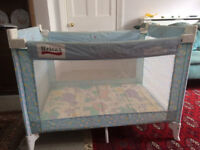 Britax Travel Cot - sturdy and has not been used much