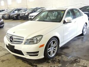 2013 Mercedes-Benz C-Class C 300 4MATIC, NAVI, SUNROOF, LEATHER