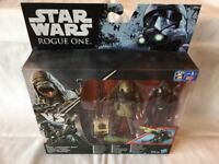 Star Wars B7259 Imperial Death Trooper and Rebel Commando Pao 3.75 Inch Action Figure Playset
