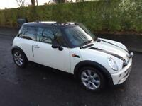 MINI COOPER 1.6 CHILLI*PAN ROOF*LEATHER*TOP SPEC*ONLY 70K!PRISTINE!ds3,bmw,ford,audi,aygo,ds3