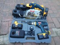 Assotment of power tools