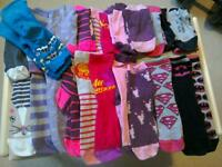 Girls socks good condition various sizes age 8 years approx