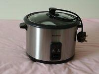 Rice cooker / steamer.