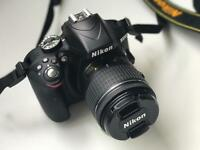 Nikon D3300 DSLR with Lens - BRAND NEW CONDITION