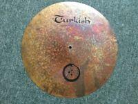 "Turkish cymbals Jarod Cagwin 20"" Flat ride"