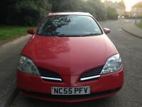 Nissan primera 2.2dci 2005 model start and drives MOT full leathers interior