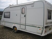 BESSACAR CAMEO 495SL Touring Caravan, 2003, 2-Berth. Overall Length 21' . (Private Sale).