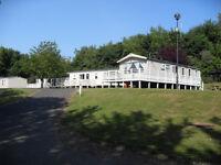 3 Bedroom Caravan at Haggerston Castle with SKY TV 3 nights from 14/10/16