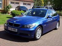 2007**BMW 3 SERIES 2.0 320D SE 4d 161 BHP 1 PREVIOUS KEEPER, MOT DECEMBER 17 FULL SERVICE RECORDS