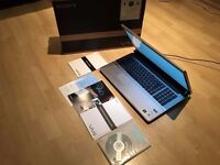 GAMING SONY VAIO 18.4 MEGA SCREEN / WORK STATION LAPTOP,BOXED ORP £1050, SUMMER SALES, L@@K!!