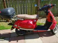 50cc scooter / moped