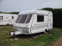 Compass Reflection Merit 360/2 HP 1996: 2 berth, plus awning and extras.