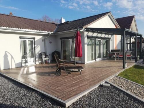 Ab Werk Bungalow Ansbach - zukunftssicher bauen Fertighaus Ausbauhaus
