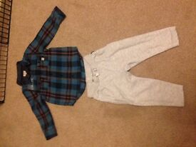 River island baby boys outfit age 12-18 months.
