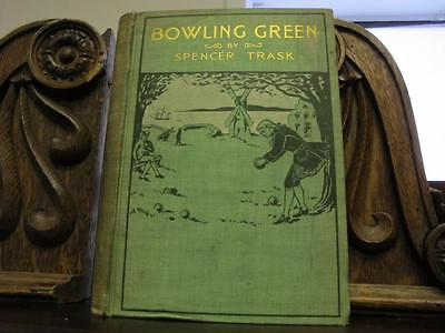 Bocce Book - 1898 LAWN BOWLING Bocce ANTIQUE ILLUSTRATED BOOK Sports GAMES Victorian Binding