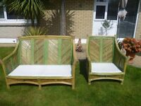 Solid Rattan Conservatory Furniture
