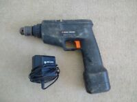 Black And Decker Cordless Drill + Charger