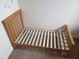 Mothercare Convertible Cot Bed & Mattress