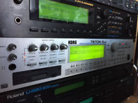 KORG Triton Rack Module Synthesizer (with one expansion bank!)
