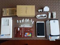 Samsung Galaxy Note 3 White 32GB AS NEW! (factory unlocked free sim worldwide).