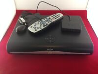Sky HD Plus Box, Remote, Sky Mini Wireless Connector with Multi Room Magic Eye