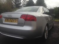 Audi A4 S Line 07 Auto, Low MIles 2.0 TDI