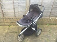 Quinny Buzz 3-in-1 Travel System - Pushchair, Carrycot & Car Seat (MAXI-COSi)