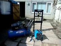 Air compressor / clark welder / press