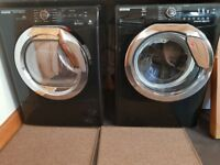 Like new Hoover 9kg washing machine and 8kg dryer