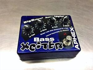 Pédale effet pour basse APHEX Bass Exciter **EXCELLENTE CONDITION**  #F021600
