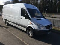 Mercedes+Sprinter 310cdi,Lwb,12reg 2012,154k miles warranted,Mot Feb '19, 1 owner,Hpi clear, No Vat.