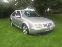 2000(X) VOLKSWAGEN BORA SE TDI 1.9 TURBO DIESEL 90 BHP AUTOMATIC THESE ARE GETTING A VERY RARE