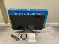"28"" 4K 2x HDMI monitor with DP UHD ultra hd"