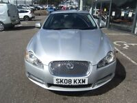 2008 08 JAGUAR XF 2.7 PREMIUM LUXURY V6 4d AUTO 204 BHP*GUARANTEED FINANCE **** PART EX WELCOME ****