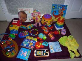 Large Bundle of Baby Toys & Books