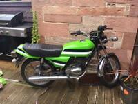 Classic Kawasaki 125cc