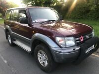 Toyota land Cruser Colorado automatic diesel 3.0,8seater
