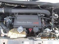 Mercedes V220 Vito Ambiente Complete Engine 116K