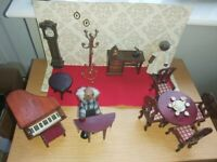 Dolls House furniture (complete set or individual rooms)
