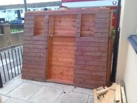 8' x 4' garden shed just needs new glass dismantled free