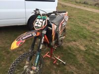 KTM 125 Sx not Yamaha yz Honda crf