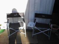 Eurohike camping chairs X 2