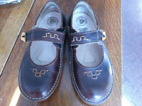 Ladies brown flat shoe size 37 by El Natura Lista